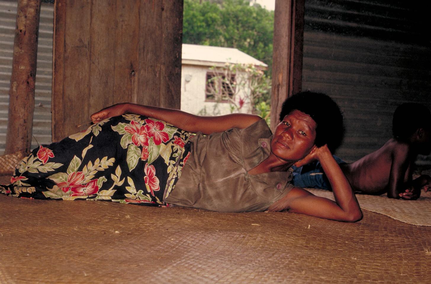 Needing a nap – Fiji